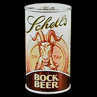 Vintage Beer Can, Schell Bock Beer
