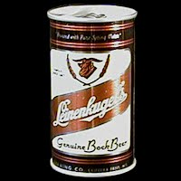 Vintage Beer Can, Leinenkugel Beer, brown