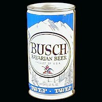 Vintage Beer Can, Busch Bavarian Beer