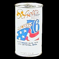 Vintage Beer Can, Schell's Farmfest 1976