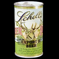 Vintage Beer Can, Schell's Export II Beer