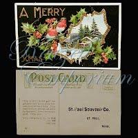 Postcard, Advertising, St.Paul Souvenir Co