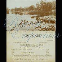 Postcard, Advertising, Auburn Doubletone