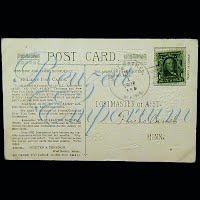 Post Card, Advertising, Whitten & Dennison
