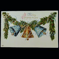 Antique Christmas Post Card, A Merry Christmas to You