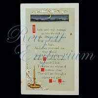 Antique 1915 New Year Post Card