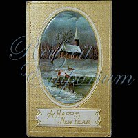 Antique 1913 New Year Post Card