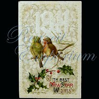 Antique New Year Post Card