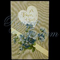 Antique Valentine Post Card