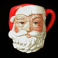 Vintage Royal Doulton Santa Claus Head Mug