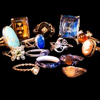 Antique and Vintage Rings, Antique and Vintage Jewelry