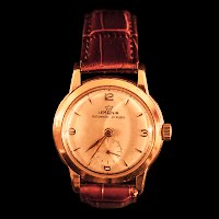 Vintage Lemania Mens Watch