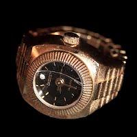 Vintage Digits Ring Watch