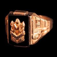 Vintage 1960 Mankato Class Ring, 10K
