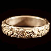 Vintage Silver Flower Ring