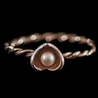 Vintage Sterling Silver and Pearl Ring