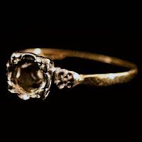 Vintage 14K Unset Ring