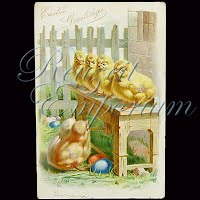 Antique Tuck Easter Post Card 1907