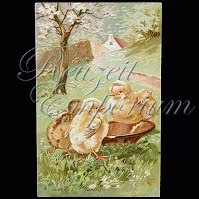 Antique Easter Post Card 1908