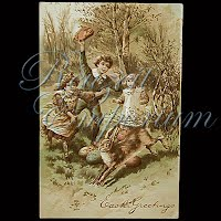 Antique Easter Post Card 1907