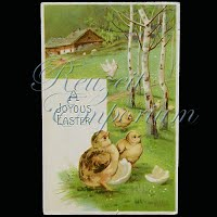 Antique Easter Postcard 1908