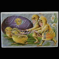 Antique Easter Postcard 1910