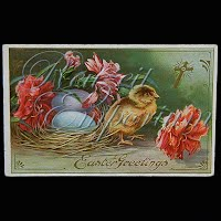 Antique Easter Postcard