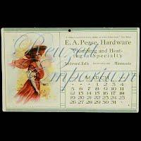 Antique Advertising Postcard, Pease Hardware 1910