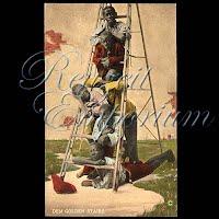 Antique Photochrome Black Americana Postcards 1906