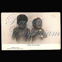 Antique Black Americana Postcards 1905
