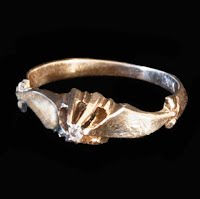 Antique 14K Gold Baby Ring