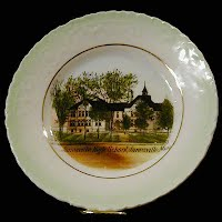 Antique China Plate, Janesville High School, Janesville, Minnesota