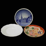 Antique China Butter Pats