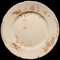 Antique Alfred Meakin Plate, Royal Semi-porcelain, England