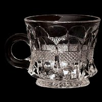Antique EAPG Banded Portland Punch Cup
