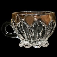 Antique EAPG Church Windows or Columbia Punch Cup