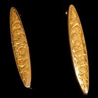 Antique metal Gold Pins