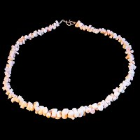 Vintage Coral Bead Necklace