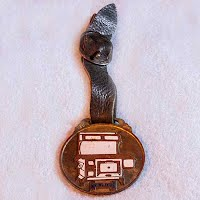 Antique Sanico Cook Stove Watch Fob