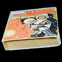 Vintage Big Little Book, Major Matt Mason, Moon Mission, 1968 Western Publishing Co
