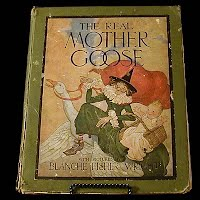 Antique The Real Mother Goose Book, first edition