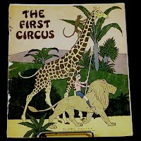 Antique Book, First Circus, 1932 Platt and Munk Company