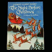 Vintage The Night Before Christmas, pop-up book Hallmark 1980
