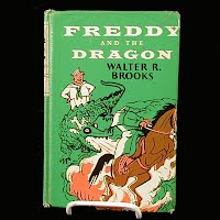 Vintage Book, Freddy and the Dragon, 1963