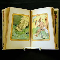 Antique Book, Jack and the Beanstalkand Robinson Crusoe, 1908