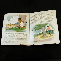 Antique Little Black Sambo Book #3100-B, 1932 Platt and Munk Co.