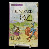 Antique Book, The Wizard of Oz, 1944