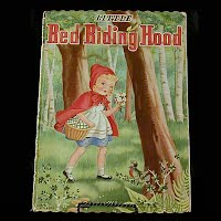 Vintage Book: Little Red Riding Hood, Doris Stolberg 1945