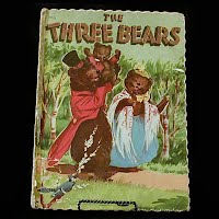 Vintage Book: The Three Bears, 1951