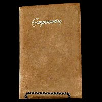 Antique Book, Compensation, Ralph Waldo Emerson